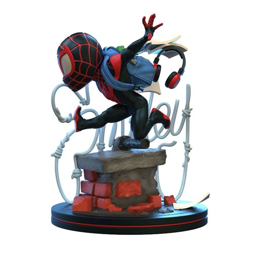 Spider-Man Miles Morales Q-Fig Elite Diorama