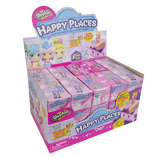 Shopkins Happy Places S3 Surprise Pack Display Tray