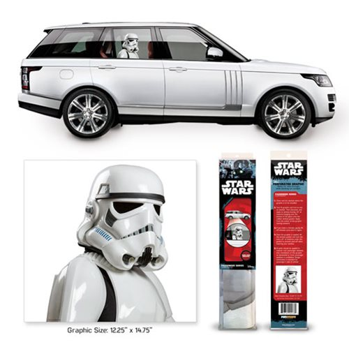 Star Wars: A New Hope Stormtrooper Passenger Series Window Decal