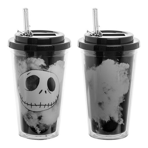 Nightmare Before Christmas Jack 16 oz. Flip-Straw Acrylic Cup