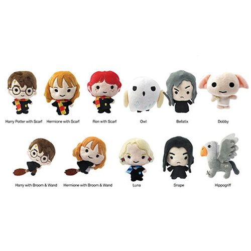Harry Potter 3D Plush Key Chain Display Case