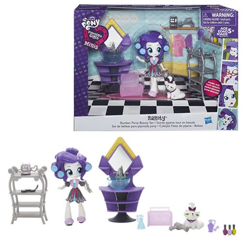 My Little Pony Equestria Girls Rarity Slumber Party Friendship Pack Figure