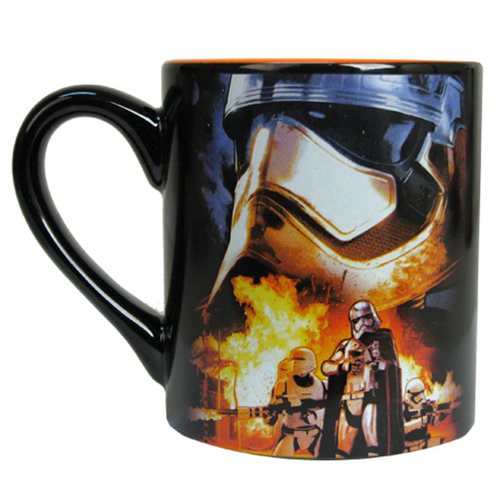 Star Wars: Episode VII - The Force Awakens Phasma and Flametroopers 14 oz. Ceramic Mug