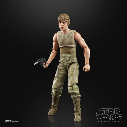 Star Wars The Black Series Luke Skywalker and Yoda (Jedi Training) 6-Inch Action Figures