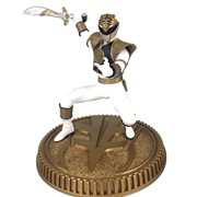 Mighty Morphin Power Rangers White Ranger 1:8 Scale Statue