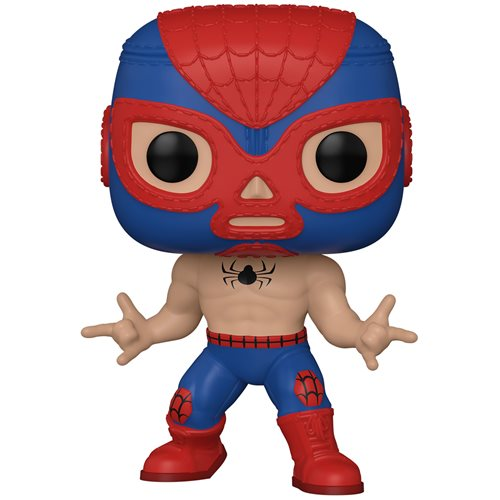 Marvel Luchadores El Aracno Spider-Man Pop! Vinyl Figure