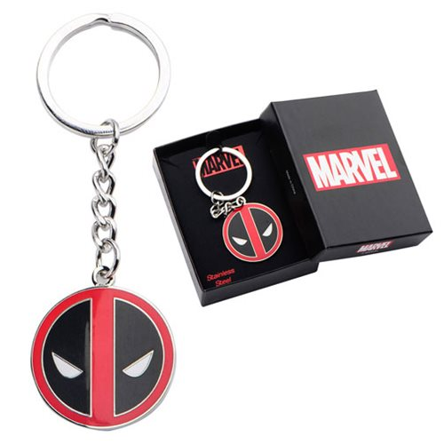 Deadpool Logo Stainless Steel Key Chain