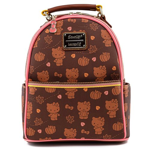 Sanrio Hello Kitty Pumpkin Spice Mini-Backpack