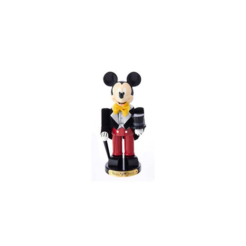 Mickey Mouse Tux 90th Birthday 10-Inch Nutcraker