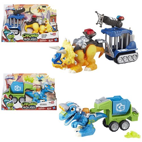 Chomp Squad Dino Trailer Dinosaurs Wave 1 Case