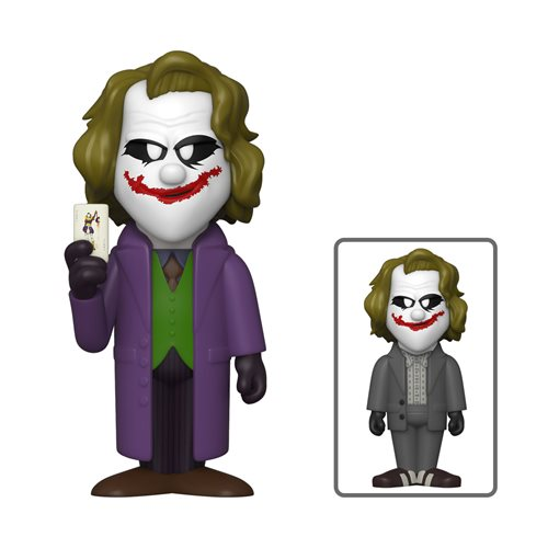DC Comic Heath Ledger Joker Soda Vinyl Figure
