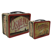 Casablanca Tin Tote Lunch Box