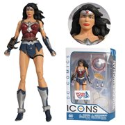 DC Icons Wonder Woman The Amazon Virus Action Figure
