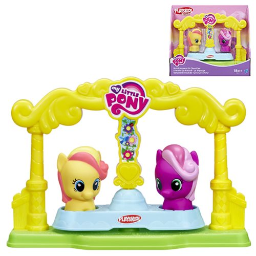 My Little Pony Bumblesweet & Cheerilee Friends Go-Round Playset