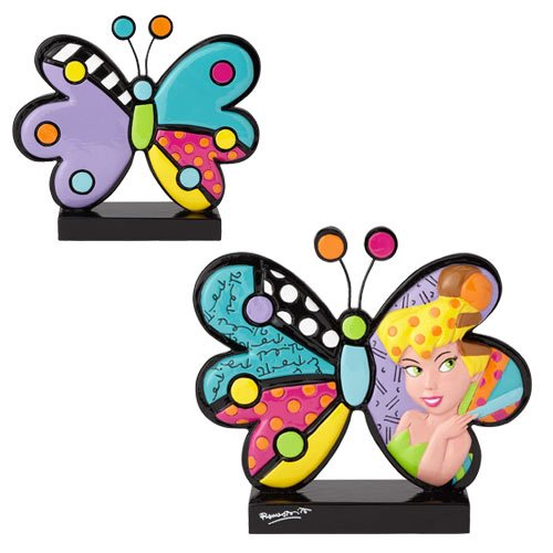 Disney Tinker Bell Butterfly Statue by Romero Britto