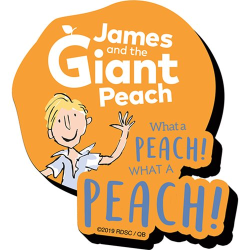 Roald Dahl James and the Giant Peach Funky Chunky Magnet