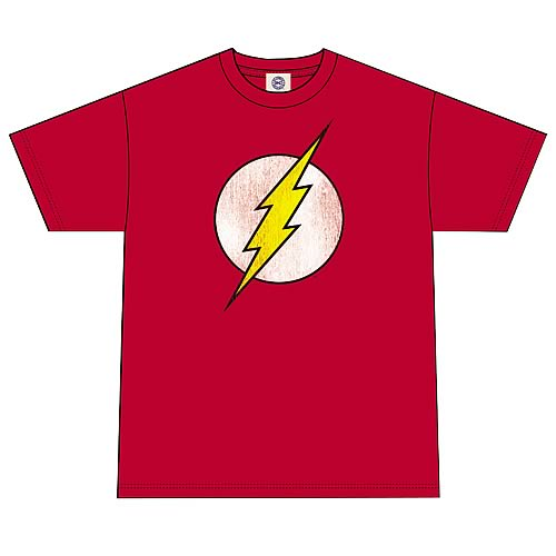 DC Originals Flash Distressed Logo T-Shirt