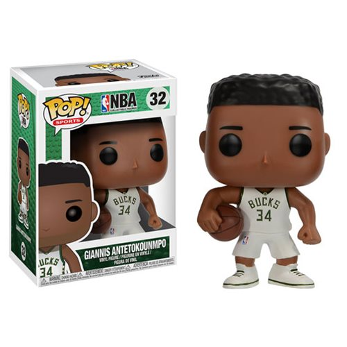 NBA Giannis Antetokounmpo Pop! Vinyl Figure #32