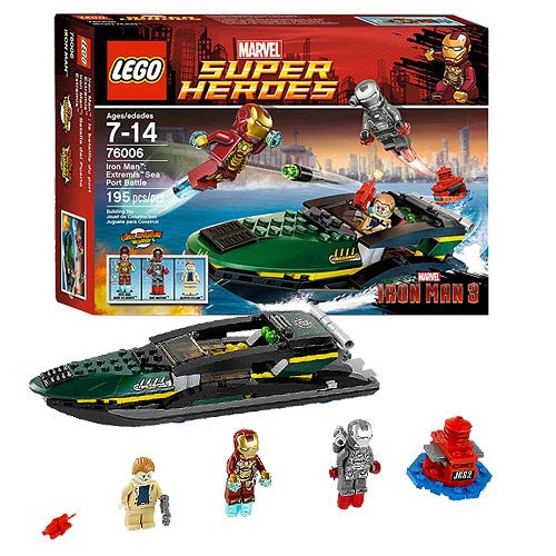 LEGO Iron Man 3 76006 Extremis Sea Port Battle