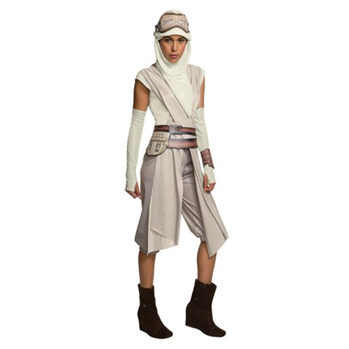 Star Wars: The Force Awakens Rey Mask with Hood