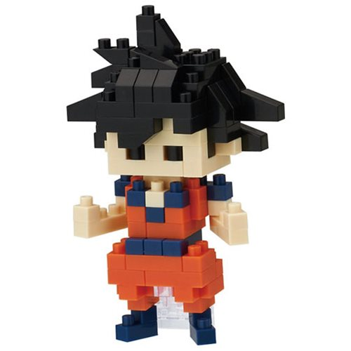 Dragon Ball Z Goku Nanoblock Constructible Figure