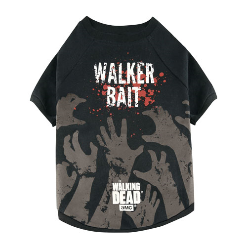The Walking Dead Walker Bait Pet Dog T-Shirt