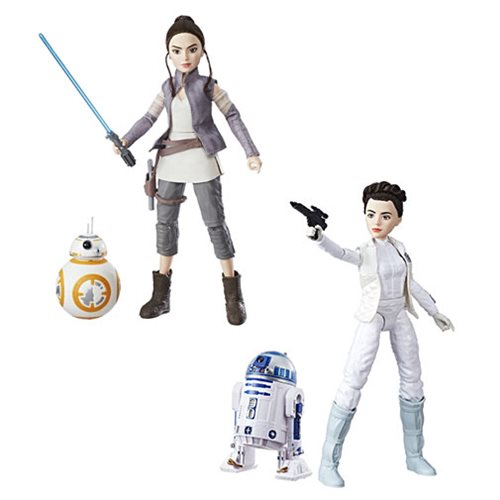 Star Wars Forces of Destiny Adventure Figure Friends Wave 1 Set