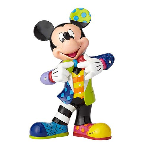 Disney Mickey Mouse with Bling Statue by Romero Britto