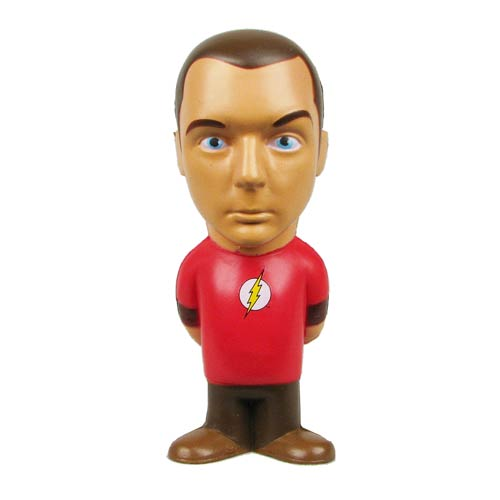 Big Bang Theory Sheldon Cooper Flash Stress Toy, Not Mint
