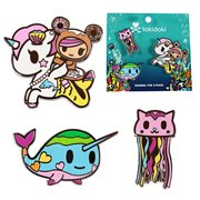 Tokidoki Sea Punk Pins 3-Pack
