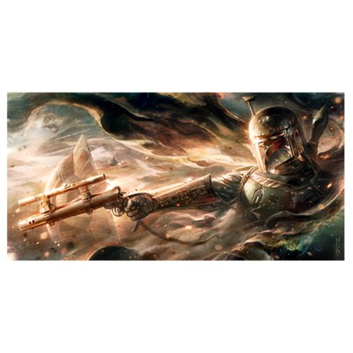 Star Wars Ghost In The Wind by Raymond Swanland Large Canvas Giclee Art Print