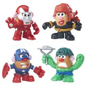Marvel Mashup Mr. Potato Head 4-Pack
