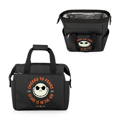 The Nightmare Before Christmas Jack Black On-the-Go Lunch Cooler Bag