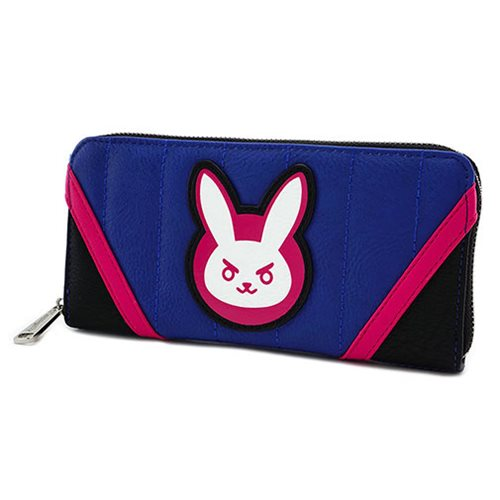 Overwatch D.Va Zip-Around Wallet