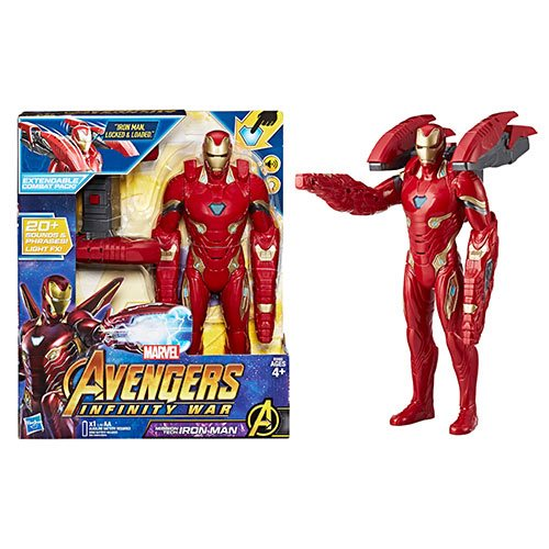 Avengers: Infinity War Mission Tech Iron Man 14-Inch Action Figure
