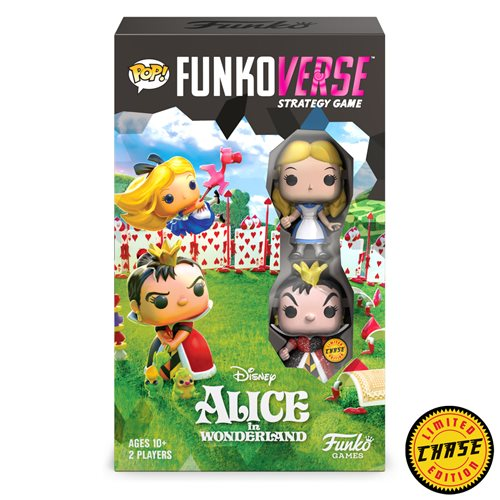 Alice in Wonderland 100 Funkoverse Strategy Game 2-Pack