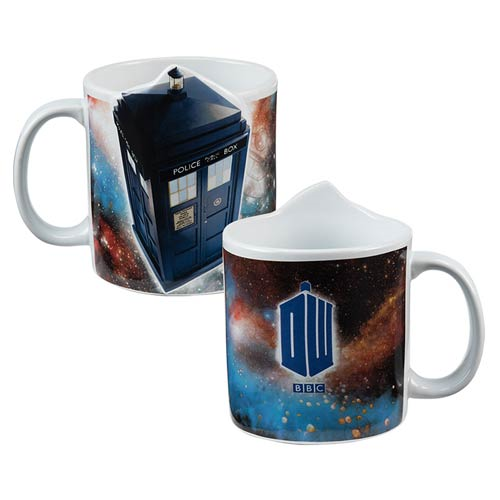 Doctor Who TARDIS 20 oz. 3D Ceramic Mug