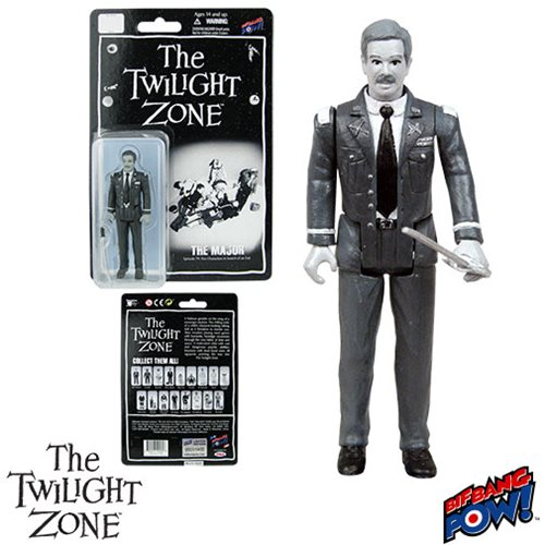 The Twilight Zone Five Characters in Search of an Exit Army Major 3 3/4-Inch Action Figure Series 3