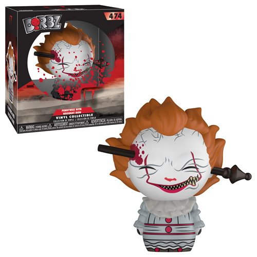 It Pennywise Wrought Iron Dorbz Vinyl Figure #474