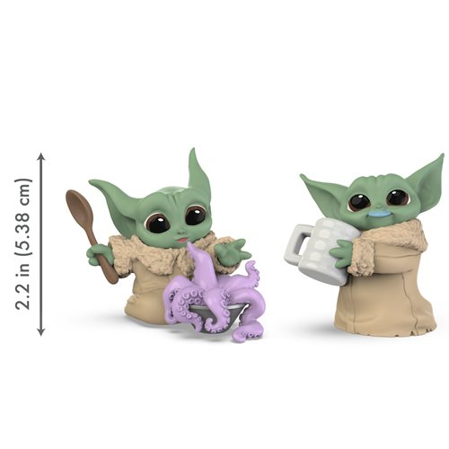 Star Wars The Mandalorian Baby Bounties Tentacle Soup Surprise and Blue Milk Mustache Mini-Figures