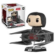 Star Wars: The Last Jedi Kylo Ren in TIE Fighter Deluxe Pop! Vinyl Bobble Head #215
