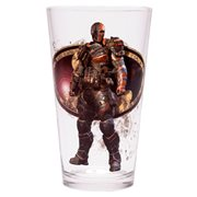 Batman Arkham Asylum Deathstroke Toon Tumbler Pint Glass