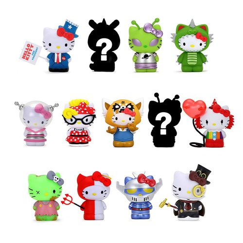 Hello Kitty Time to Shine Vinyl Mini-Figure Random 4-Pack