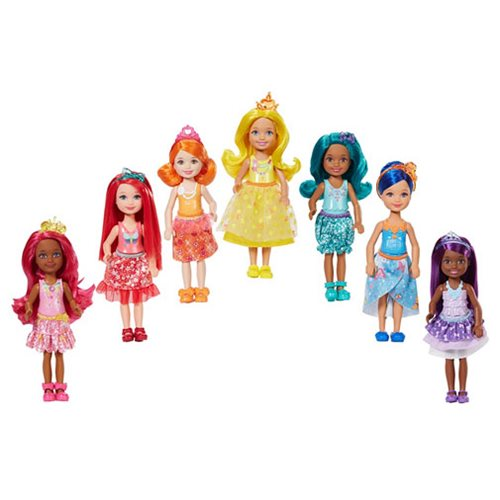 Barbie Rainbow Cove Doll 7-Pack Set