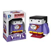 Superman Bizarro Interchangeable Magnetic Vinyl Cubed Figure