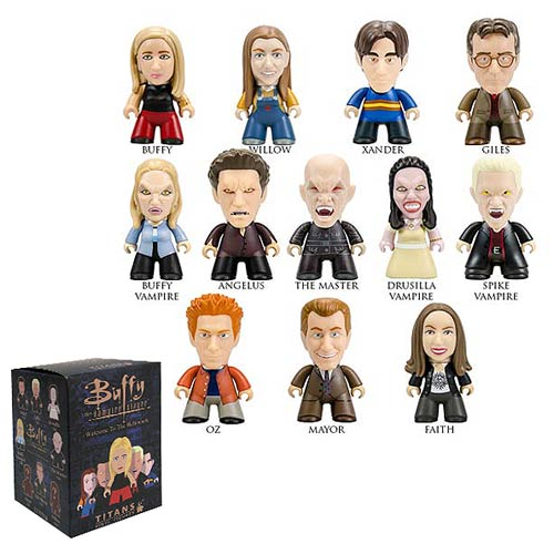 Buffy the Vampire Slayer Titans Welcome to Hellmouth Random Vinyl Mini-Figure