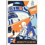 Star Wars: A New Hope Droids You Can Count On by Steve Thomas Paper Giclee Art Print