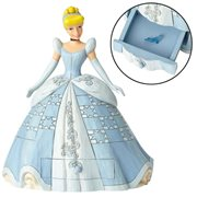 Disney Traditions Cinderella with Shoe Charm Statue by Jim Shore