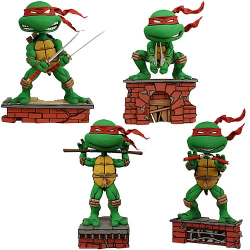 Teenage Mutant Ninja Turtles Bobble Head Case