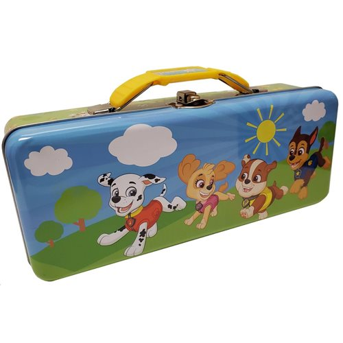 PAW Patrol Tin Tote Box with Handle